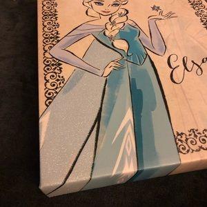 Disney Wall Art - Elsa Frozen Disney Art